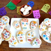 Atelier mexicain : cookies calaveras pour le Dia de los Muertos