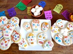 Atelier mexicain : cookies calaveras pour le Dia de losMuertos