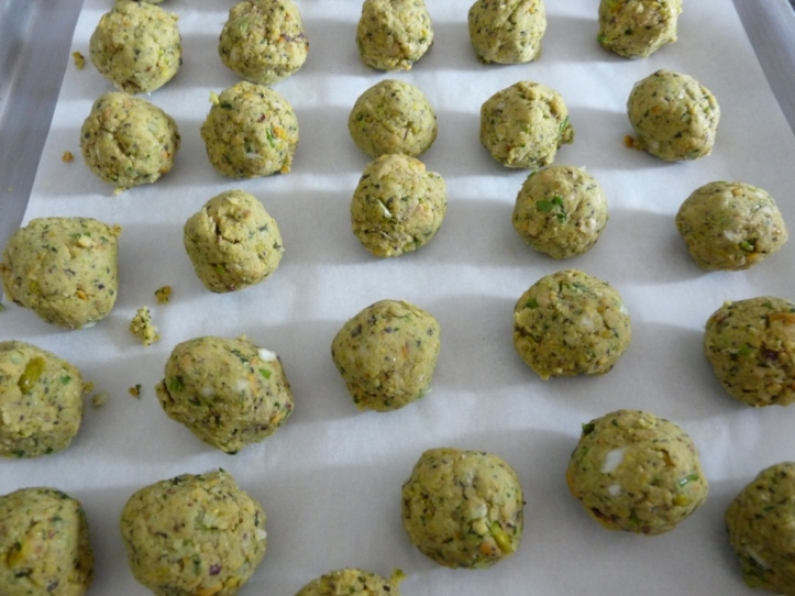 Falafels pistaches et herbes (12)