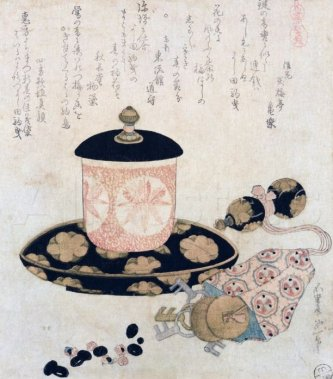 hokusai-a-pot-of-tea-and-keys
