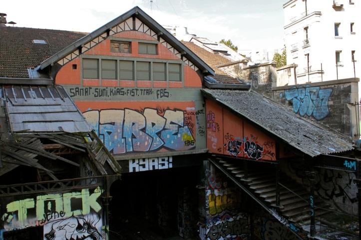 Le Hasard Ludique - egarez-vous - Gare de Saint Ouen8