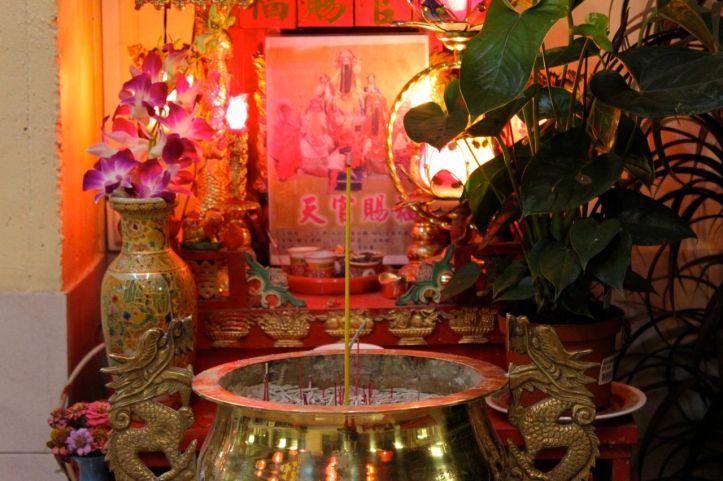 Autel du culte de Bouddha rue du Disque Paris 2