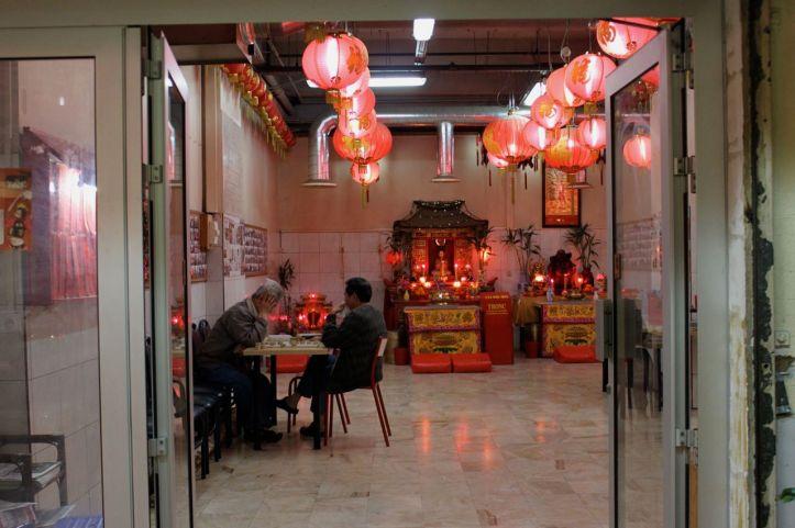 Autel du culte de Bouddha rue du Disque Paris 3