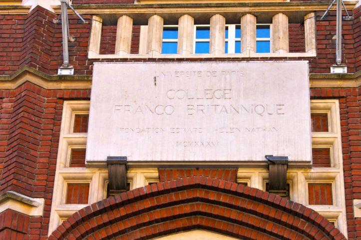 College Franco Britannique CIUP Paris 1