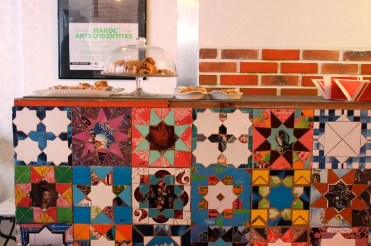 Paris Goutte d Or ICI Leon Cafe 1
