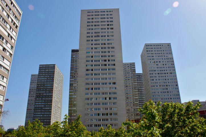 Quartier des Olympiades : La Dalle 3