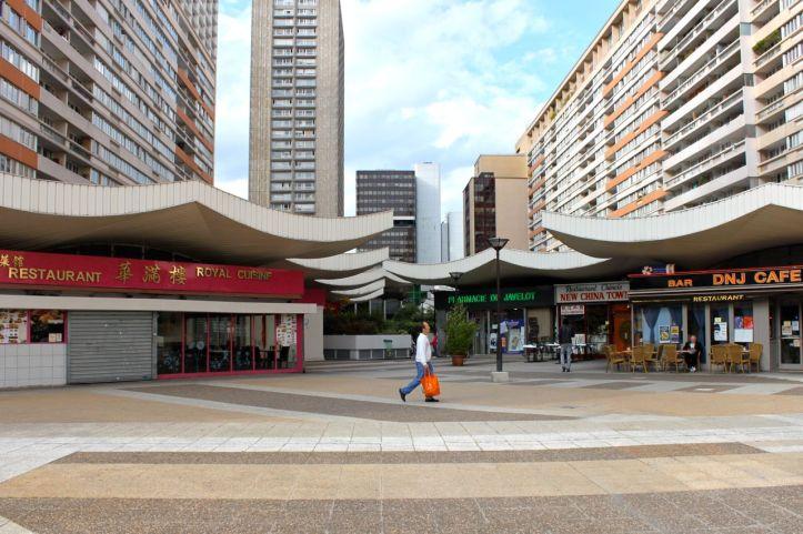 Quartier des Olympiades : La Dalle 4
