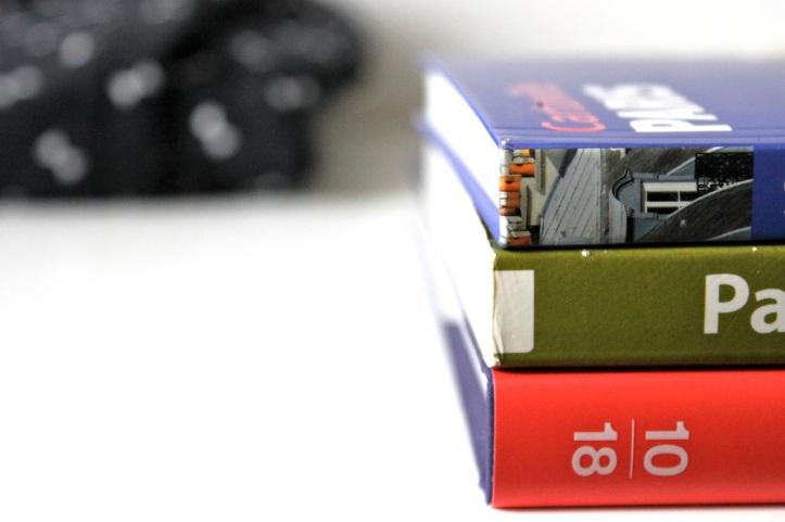 3 livres sur Paris 1