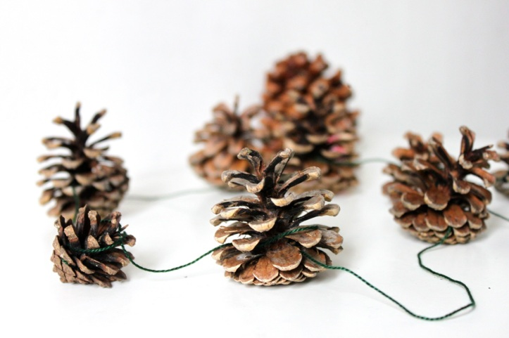 DIY deco sapin noel nature 1
