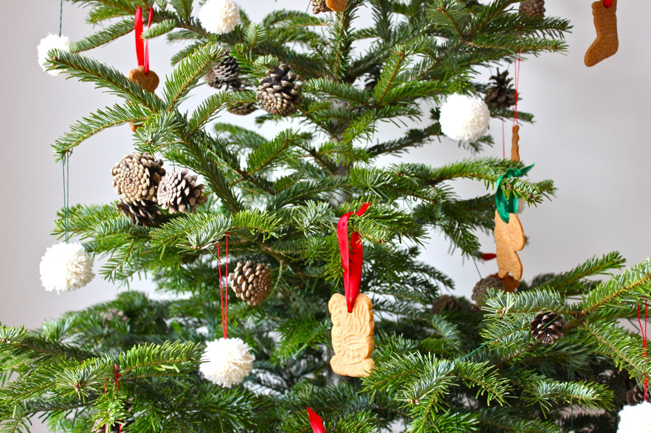 Decoration sapin de noel alsacien