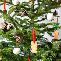 Noël scandinave : notre sapin 100% fait main !