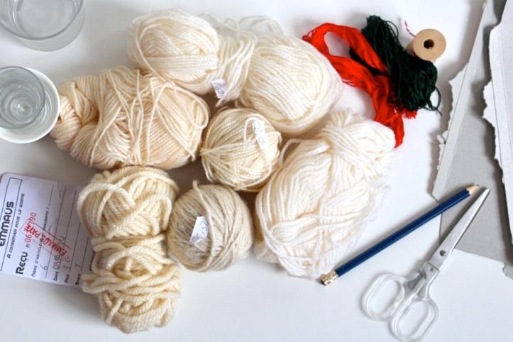 DIY pompons de laine 1