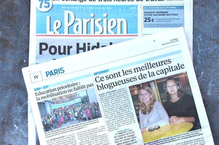 So many Paris - Le Parisien - Novembre 2015