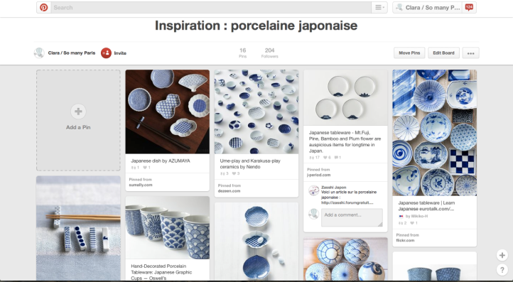 Pinspiration DIY Porcelaines japonaises