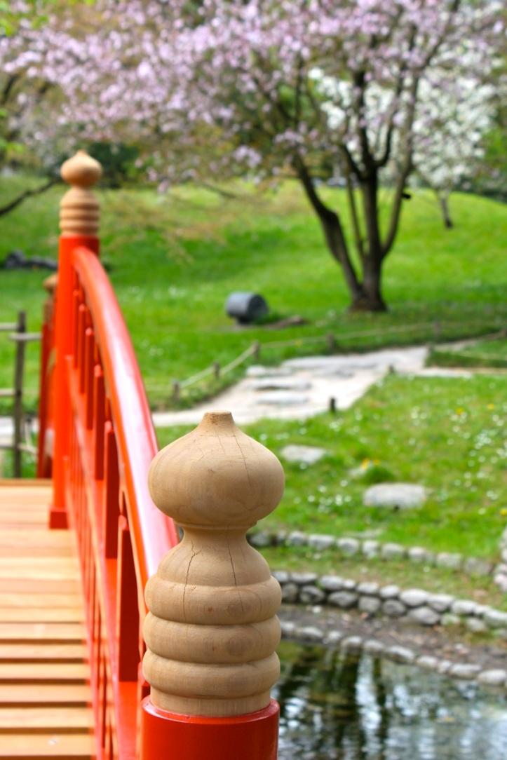 Albert Kahn - Pont jardin japonais contemporain 1