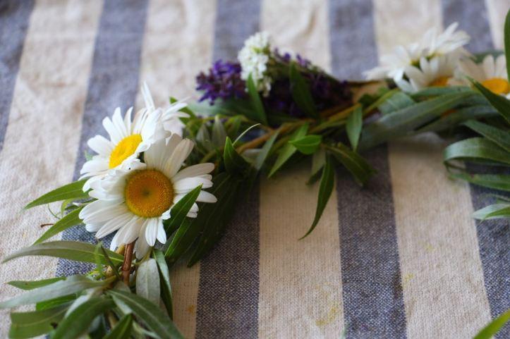 DIY Couronne fleurs Midsommar10