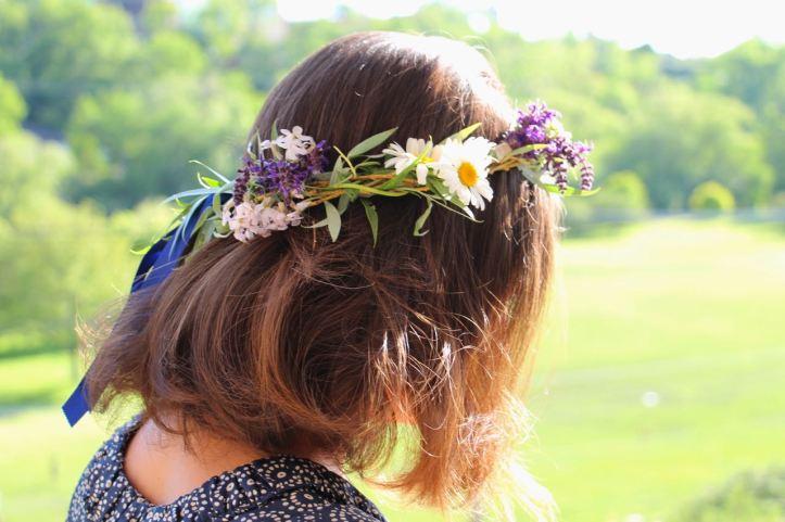 DIY Couronne fleurs Midsommar14