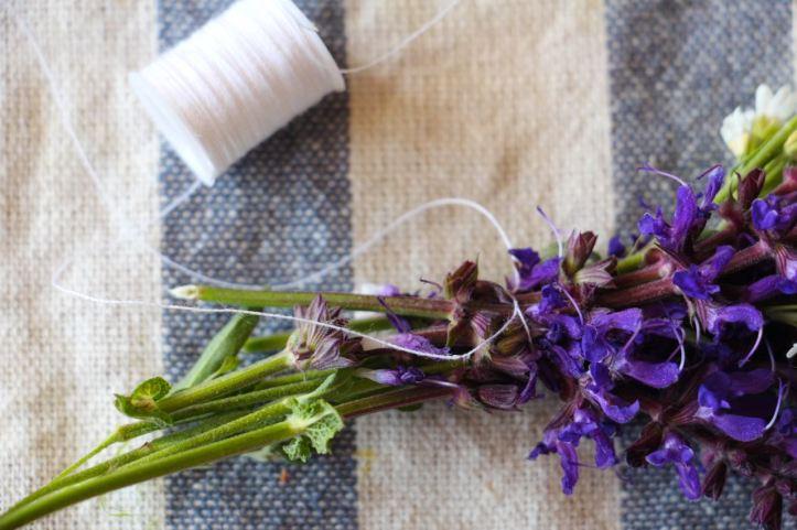 DIY Couronne fleurs Midsommar6