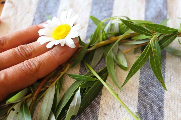 DIY Couronne fleurs Midsommar7