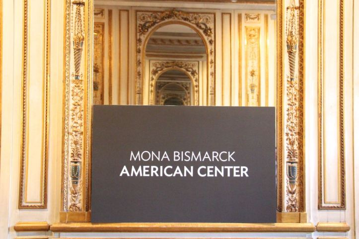 Mona Bismarck American Center Paris1