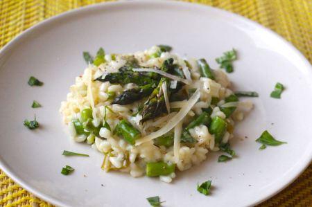 Recette risotto asperges petits pois2