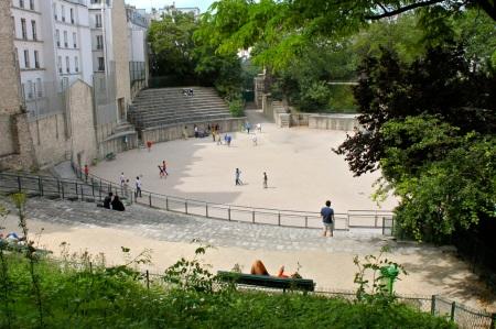 Arenes de Lutece Paris 4