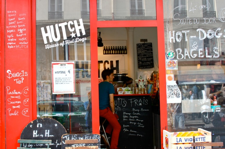 Hutch hot dogs Paris 3