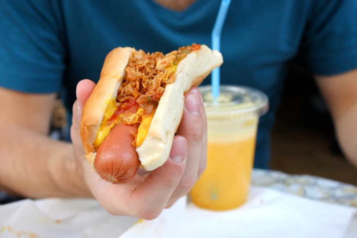 Hutch hot dogs Paris 7