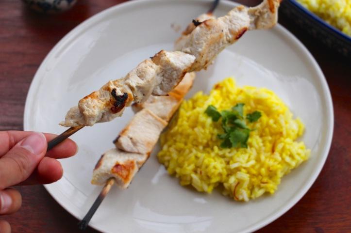 Recette joujeh kebab - 7