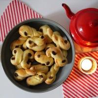 Sainte-Lucie : la recette suédoise des brioches au safran