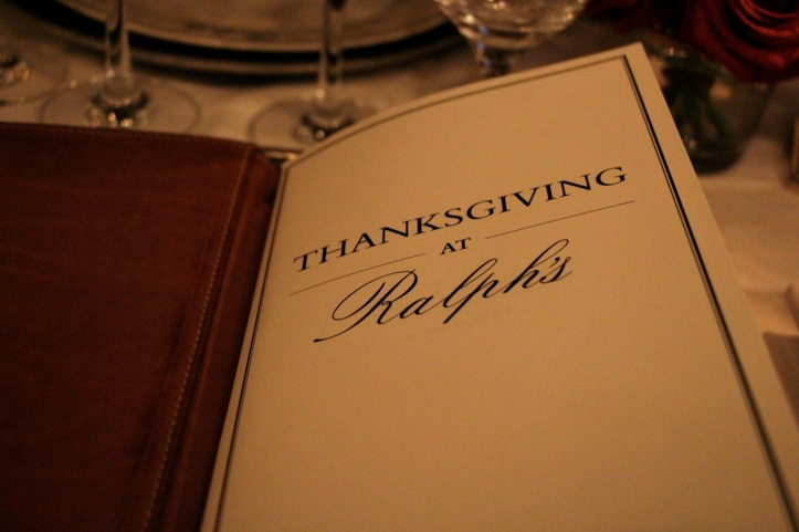 Thanksgiving at Ralph s Paris 4