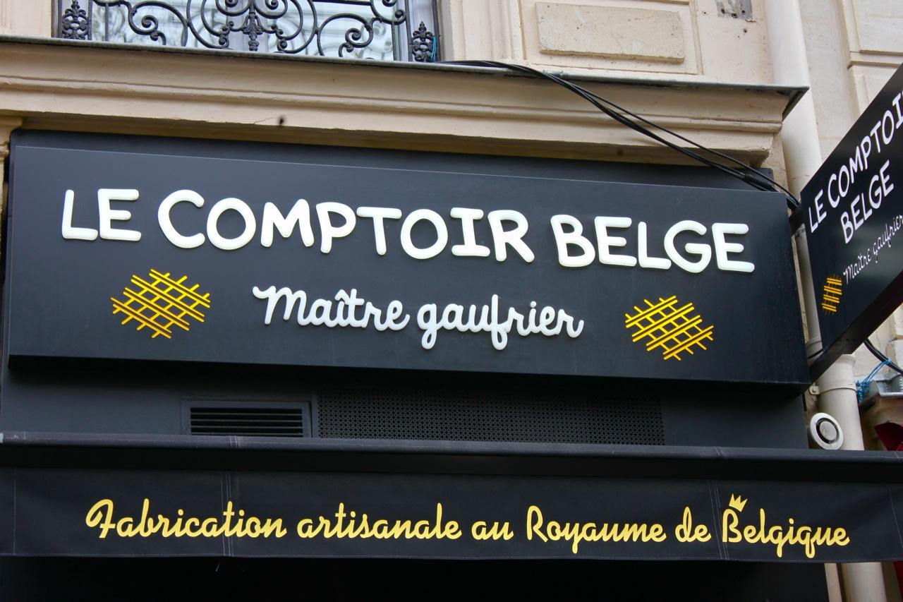 Les gaufres li geoises tr s tr s gourmandes du comptoir belge so many paris - Le comptoir du petit marguery paris 13 ...