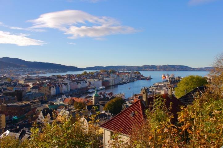 Carnet de voyage - Bergen - Norvege - 1