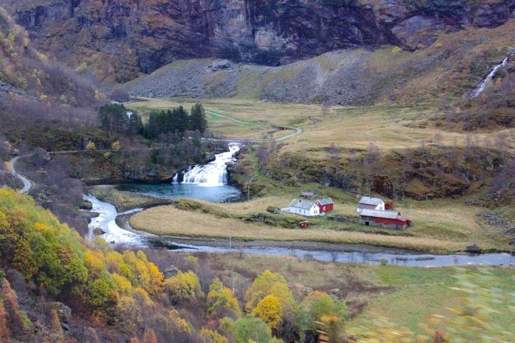 Carnet de voyage - Naeroyfjord - 2