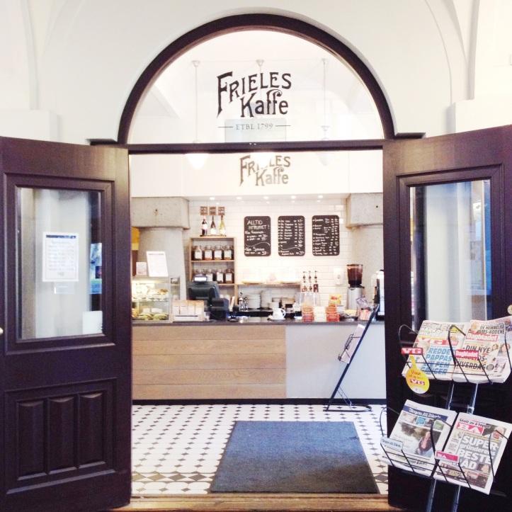 Carnet de voyage Norvege Frieles Cafe