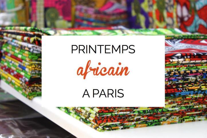 printemps afrique paris
