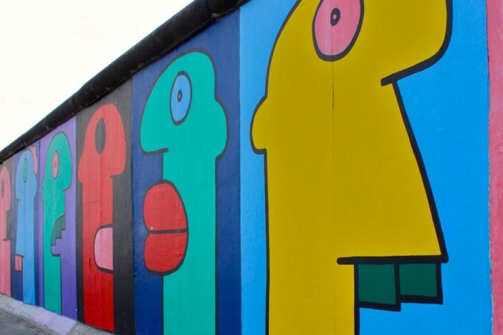 Mur de Berlin - East Side Gallery 2012