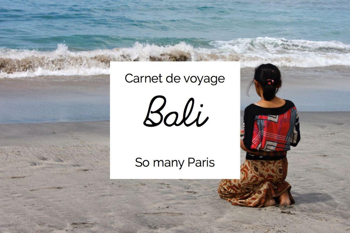 carnet de voyage offrandes de bali so many paris. Black Bedroom Furniture Sets. Home Design Ideas