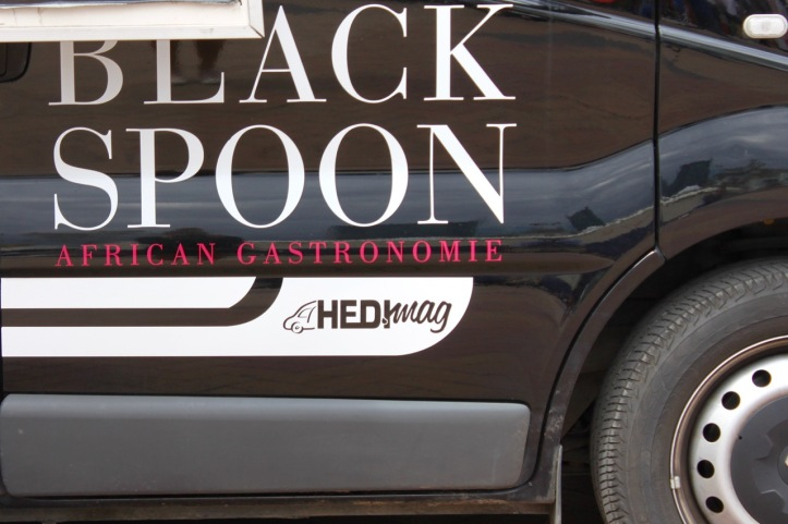 Black spoon Paris foodtruck africain - 5