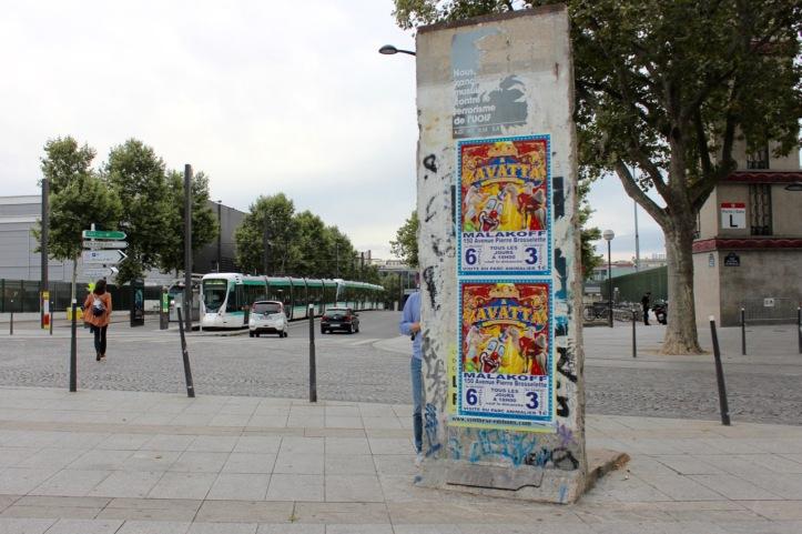 Mur de Berlin Porte de Versailles - 1