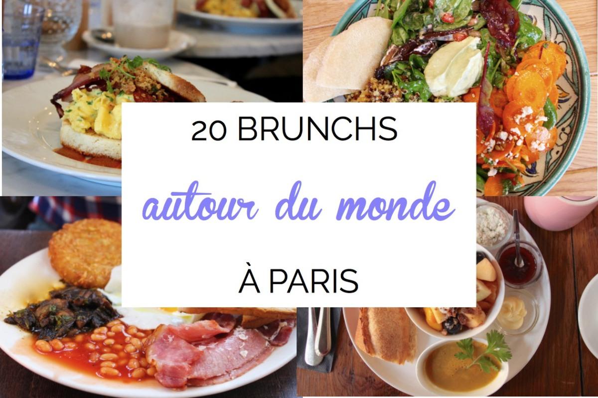Bruncher autour du monde à Paris : nos 20 meilleures adresses