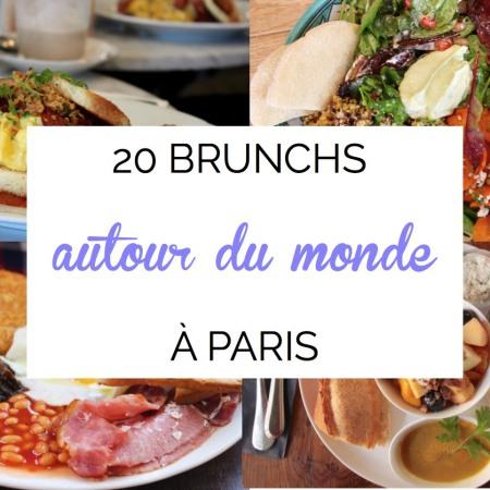 20 brunchs autour du monde a Paris