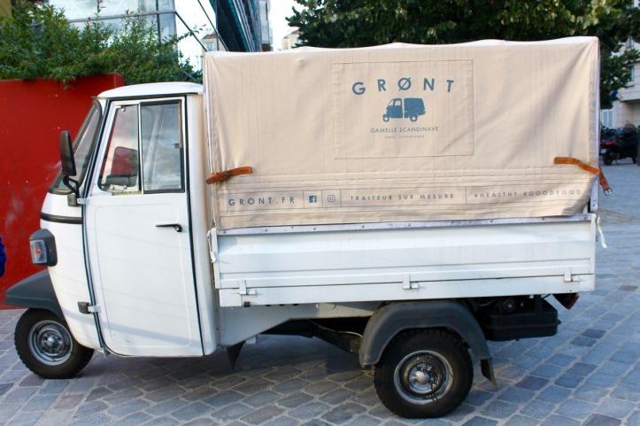 Grønt traiteur danois Paris