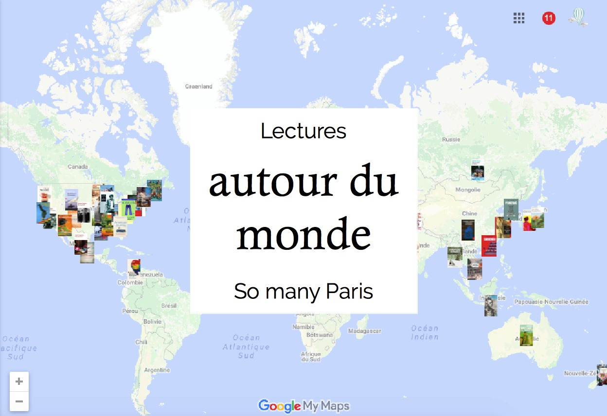 lectures pour un voyage autour du monde so many paris. Black Bedroom Furniture Sets. Home Design Ideas