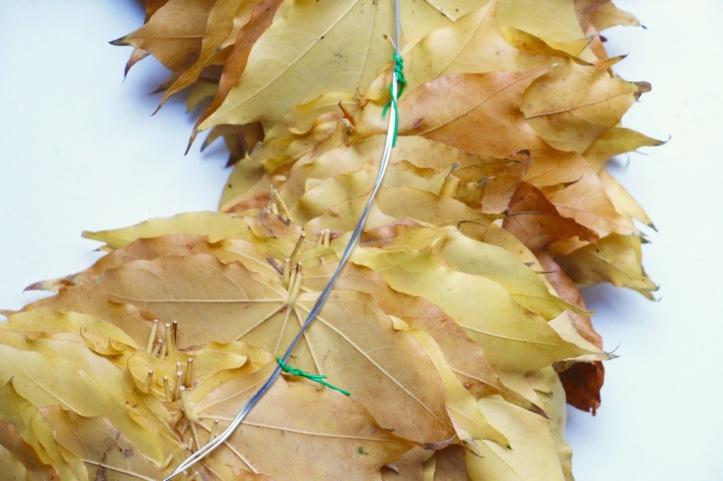 DIY couronne Thanksgiving - 10
