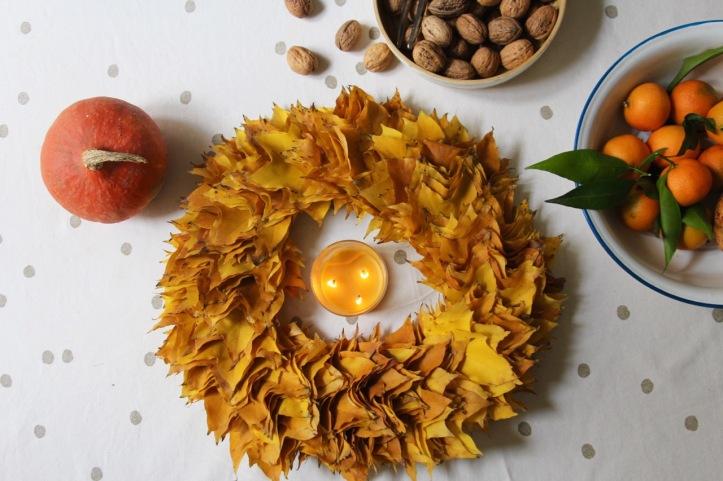 DIY couronne Thanksgiving - 11