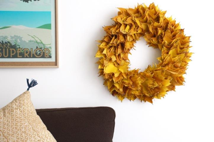DIY couronne Thanksgiving - 15