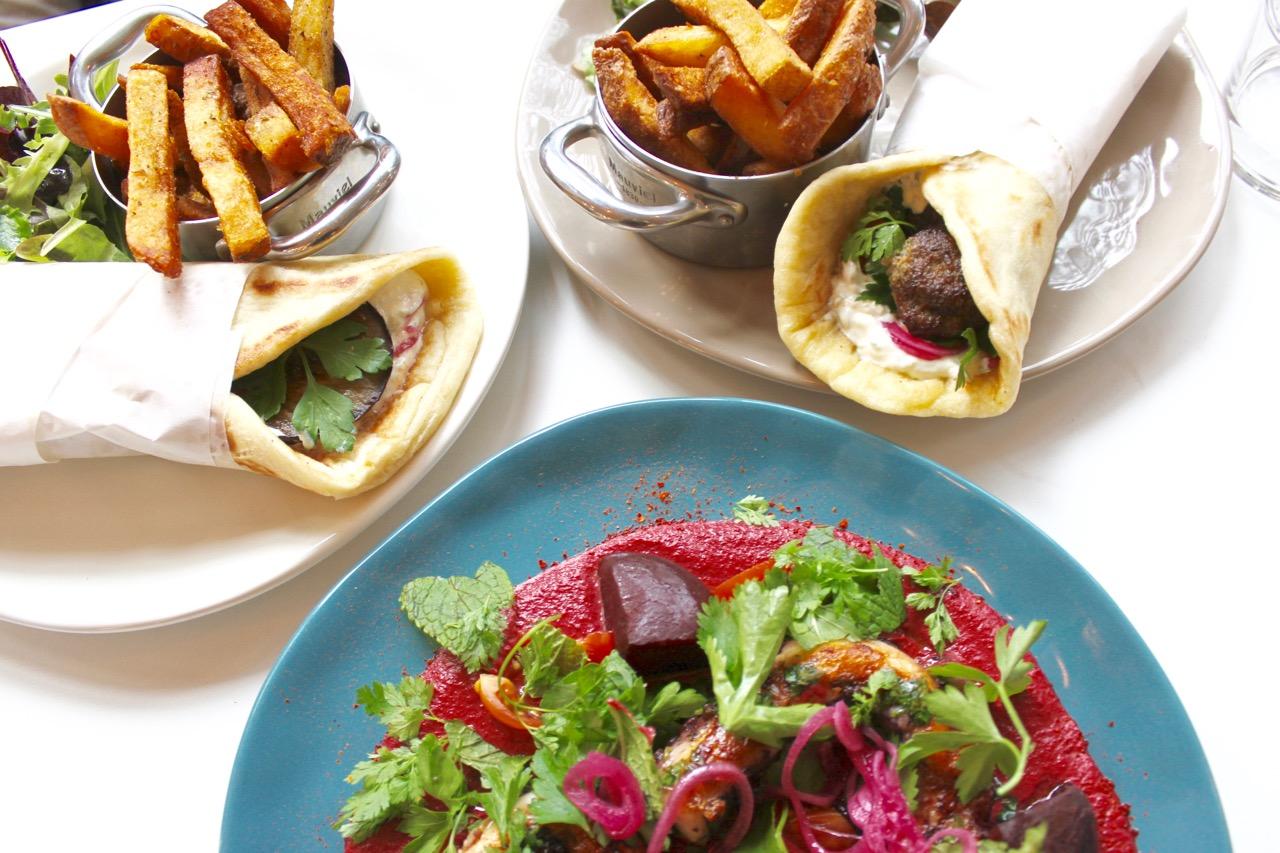 Yaya une cuisine grecque moderne au c ur de saint ouen so for Cuisine grecque