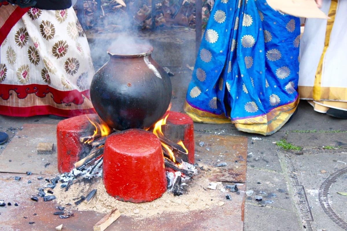 La fête tamoule de Pongal à Paris