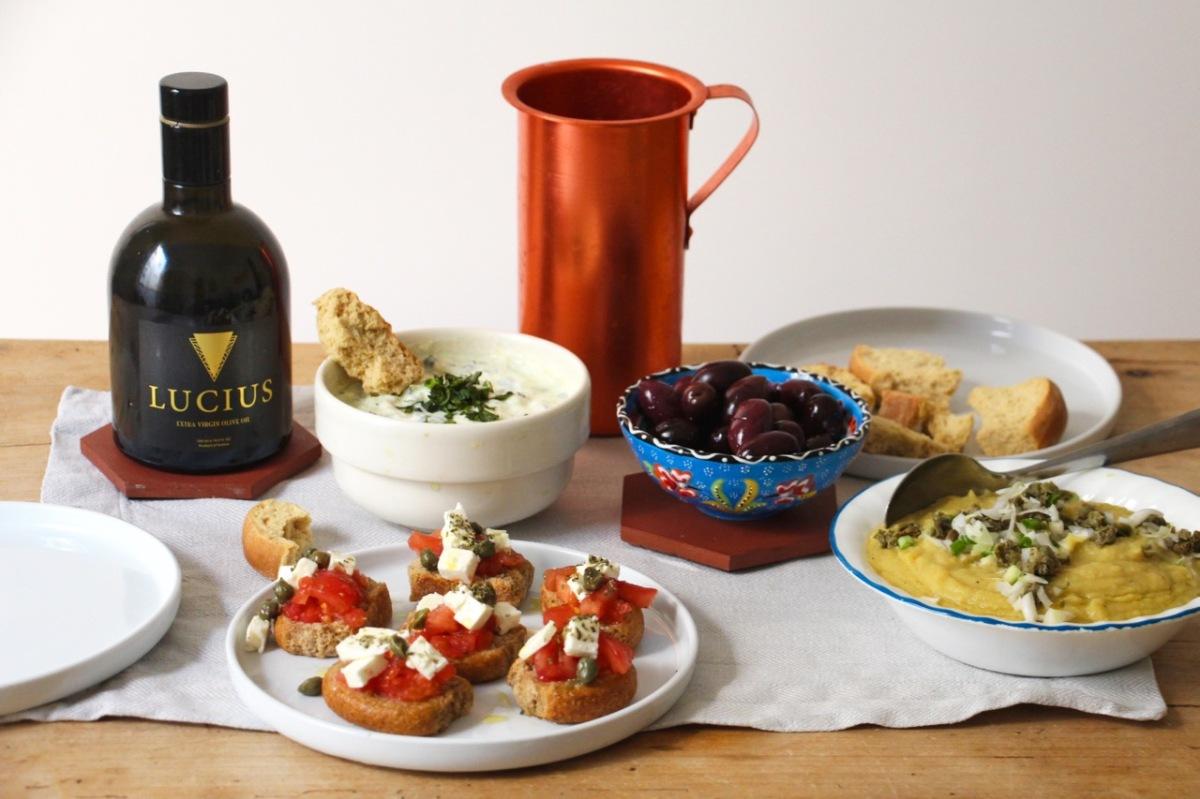 3 recettes pour un apéro grec